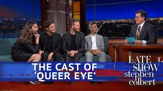 Rapid Fire Questions For The 'Queer Eye' Guys