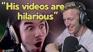 """Tfue Reacts to Our Montage """"We Enhanced 72hrs with this Fortnite Edit"""""""