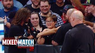 AJ Styles Woos the crowd following Fenomenal Flair