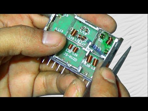 How To Repair Channel Related Fault Of CRT Color Television (Part 3) – Bengali Tutorial