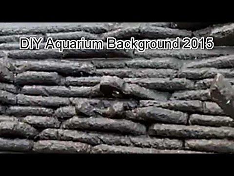 how to make aquarium 3d background DIY in hindi part 2