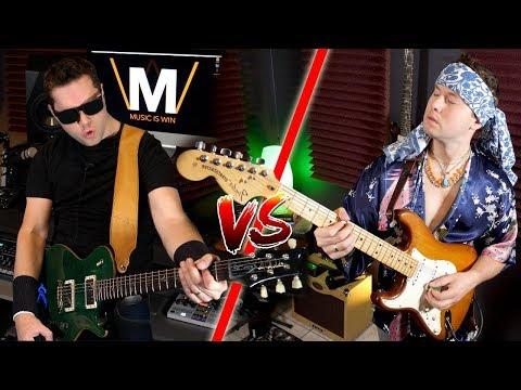 GUITAR DUEL: Metallica vs. Jimi Hendrix
