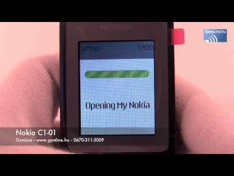 Nokia C1-01 - www.GsmLine.hu