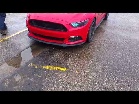 2015 mustang gt color changing running lights+mods
