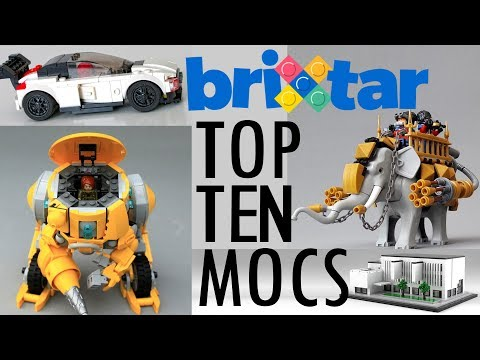Top 10 Custom LEGO Creations on BriXtar | May 2018