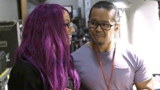 Sasha Banks opens up about traveling the road with her husband