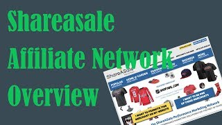 Shareasale Affiliate Network Overview