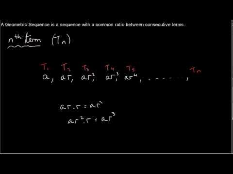 Geometric Sequences - nth term