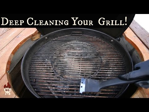Charcoal Grill Deep Cleaning | How To Clean Your Grill | Weber Grill