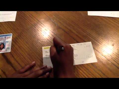 How to fill out bank deposit slips