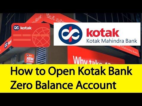 How to Open Kotak Mahidra Bank Zero Balance Account Online | Tamil Banking
