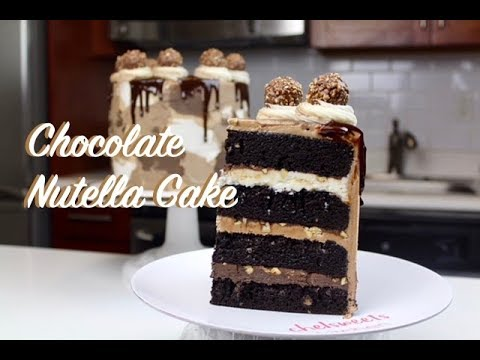 The Best Chocolate Nutella Cake | CHELSWEETS