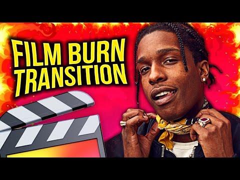 FILM BURN TRANSITION EFFECT - FINAL CUT PRO X