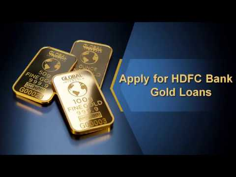 HDFC Bank Gold Loan, Apply for HDFC Bank Gold Loan in India  -  Logintoloans