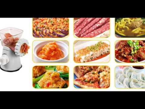 Kitchen Basics 3-In-1 Meat Grinder and Vegetable Grinder/Mincer