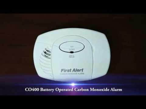 Basic Battery Operated Carbon Monoxide Alarm CO400