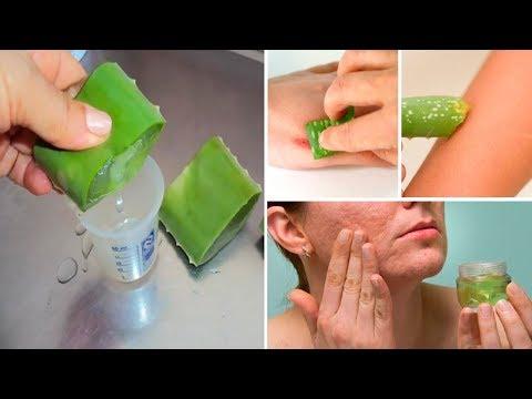 7 Reasons To Rub Aloe Vera On Your Face and Skin - Aloe Vera Benefits for Skin