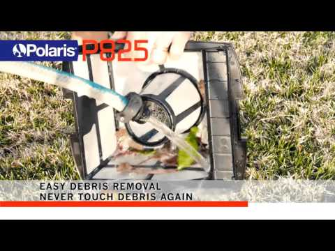 Polaris P825 Robotic Pool Cleaner - Features Overview