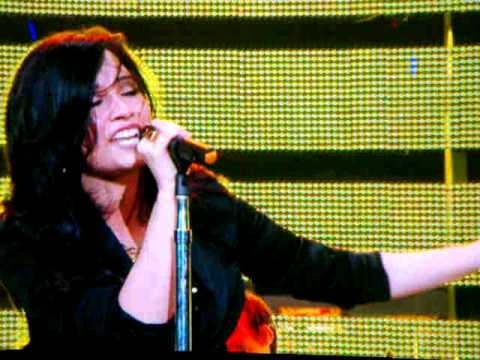 Demi Lovato - Here We Go Again - Houston Rodeo 2010
