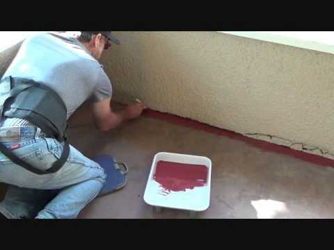 How to paint a concrete porch...Part 3