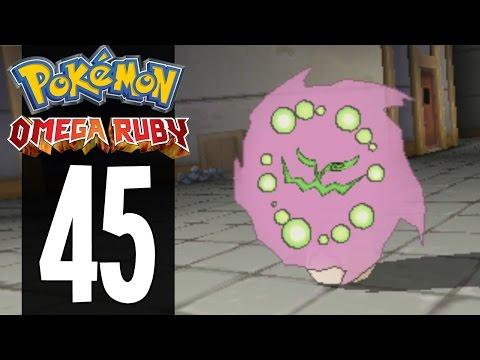 Pokemon Omega Ruby - Part 45 - Catching Spiritomb (Gameplay Walkthrough)
