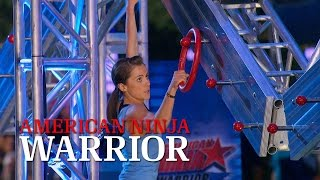 Kacy Catanzaro at the 2014 Dallas Finals | American Ninja Warrior