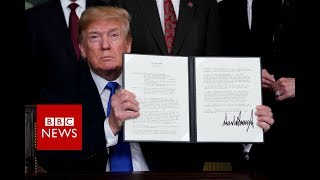 Trump announces $50bn in China tariffs - BBC News