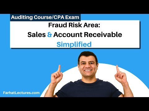 Fraud Risk Area Sales and Account Receivable   Auditing and Attestation   CPA Exam
