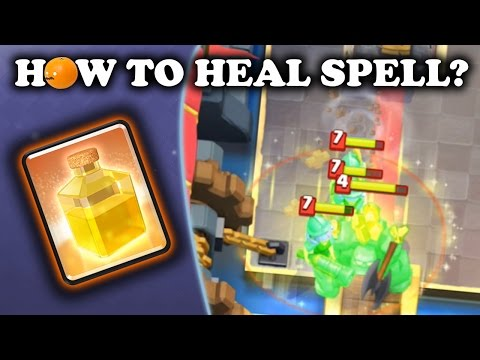 How to Use Heal Spell | Clash Royale