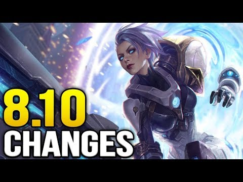 New changes coming soon in Patch 8.10 + Jungle Update (League of Legends)