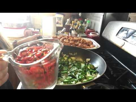 Making sauce for spicy squids Chinese recipes part 2