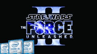 Star Wars The Force Unleashed 2 Intel Kaby Lake HD 620 HD 720p