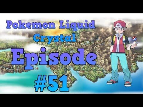 Pokemon Liquid Crystal Walkthrough - Part 51: Mt. Silver & Pokemon Champion Red
