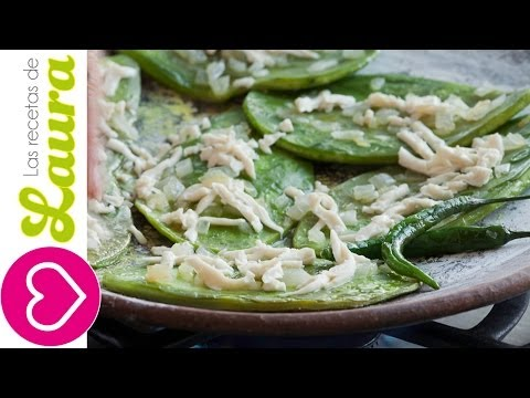 How to prepare and cook nopales cactus♥Nopales and Diabetis♥Mexican Catus