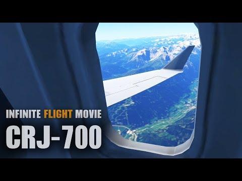 Infinite Flight Movie - CRJ700 [HD]