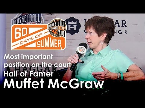 Muffet McGraw - What is the most important position on the court?