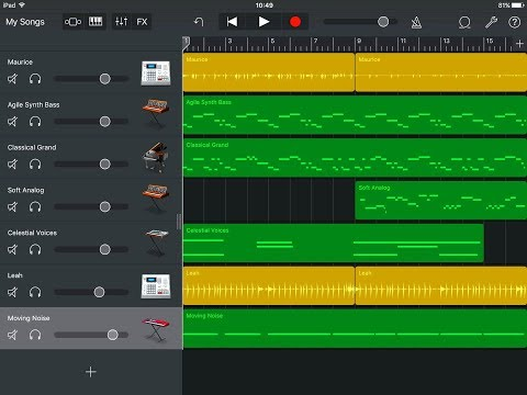 Making Beats & Grooves With GARAGEBAND for the iPad