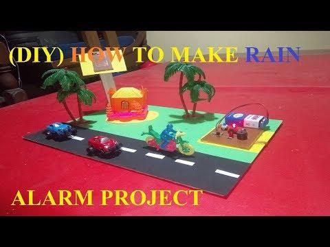(DIY )HOW TO MAKE RAIN ALARM