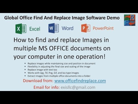 How to find and replace images in Word, Excel and PowerPoint