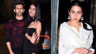 Kartik Aaryan DITCHES Sara Ali Khan Celebrates Valentines With Ananya Pandey