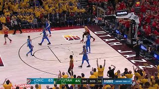 3rd Quarter, One Box Video: Utah Jazz vs. Oklahoma City Thunder