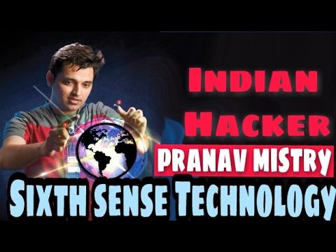 Sixth Sense Technology | Demo | Video |  Working | Presentation  Pranav Mistry in Hindi/English