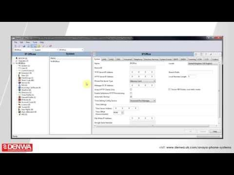 How to create an account code on the Avaya IP Office