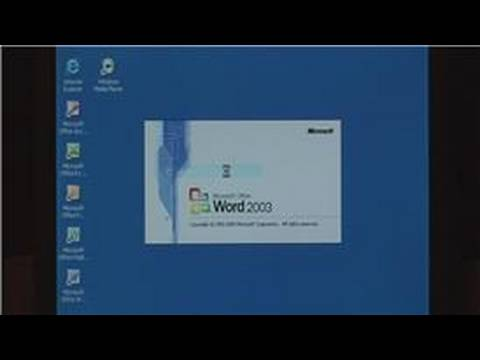 Technology: PC Tips : How to Change the Background Color in Word 2003