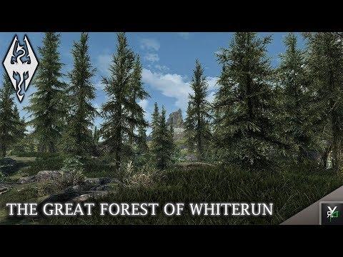THE GREAT FOREST OF WHITERUN: Land Overhaul Mod!- Xbox Modded Skyrim Mod Showcase