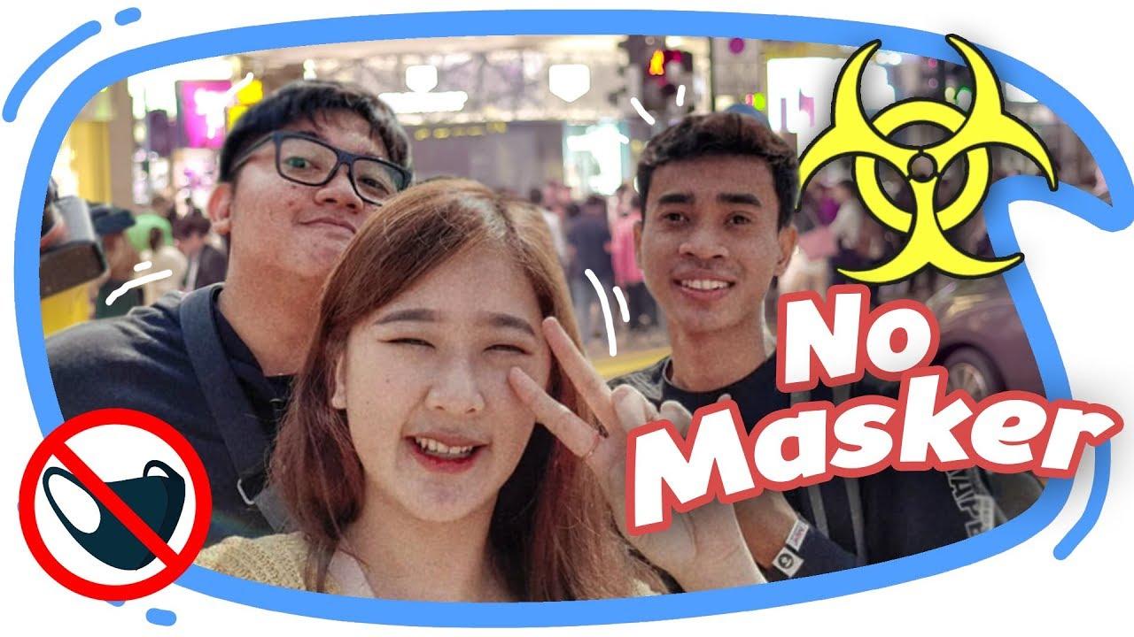 Ke China tanpa masker!