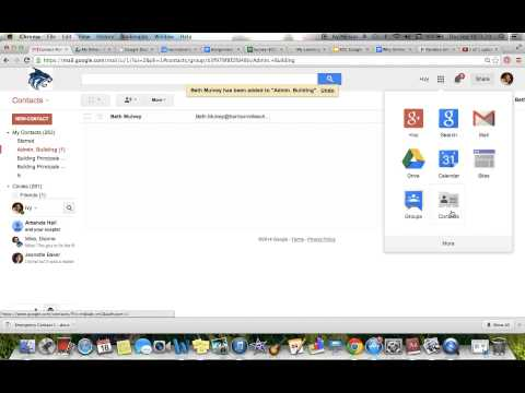 HOW TO Create and use a Gmail Distribution List