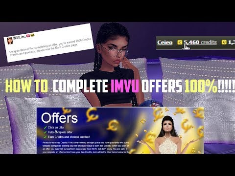 How To: REALLY DO IMVU OFFERS!! (2k Credits in 5 min)