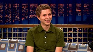 Michael Cera Thought His Hotel Room Was Haunted   Late Night with Conan O'Brien