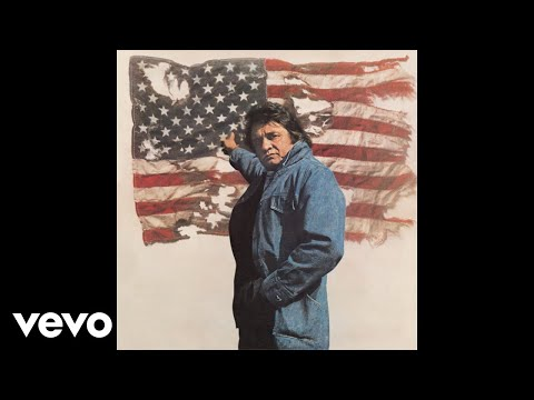 Johnny Cash - Ragged Old Flag (Audio)
